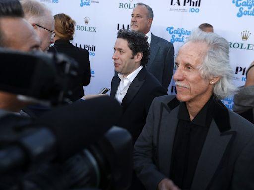 Column: What do conductor Gustavo Dudamel and rocker John Densmore have in common? Plenty