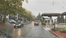 Bay Area residents welcome 1st rain of season