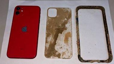 日月潭底又找到iPhone 11!泡水兩個月 一接上電源開機了