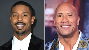 Dwayne Johnson 'refuses to concede' his Sexiest Man Alive title to Michael B. Jordan