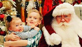 The Cutest Pics of Celebrity Kids Meeting Santa This Year