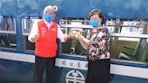 藍皮解憂火車南台灣重磅回歸 蘇揆偕愛妻重溫鐵道之旅
