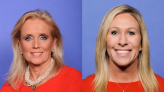 WATCH: Rep. Marjorie Taylor Greene gets into screaming match with MI Rep. Debbie Dingell on Capitol steps