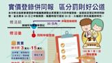 台中推出實價登錄申報「七心」級便民措施