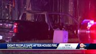 8 people displaced after early Monday morning house fire in Kansas City, Missouri