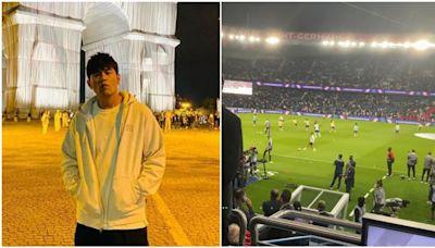 「紅到全世界!」周杰倫巴黎看球賽 聽這首嗨爆:是我的歌