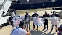 New England Patriots Plane Takes 76 Health Care Heroes To Tampa For Super Bowl
