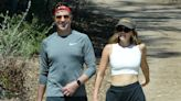 Jason Sudeikis Spotted Hiking with Model Keeley Hazell as Source Says They Are 'Just Friends'
