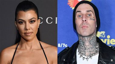 "Kourtney Kardashian Is ""Really Happy"" Dating Travis Barker"