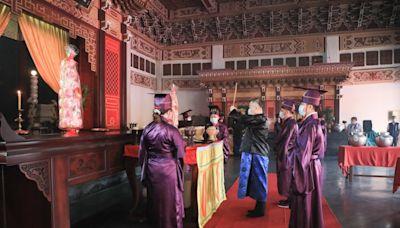 台中孔廟祭孔大典線上直播 遵循三獻古禮尊師重道