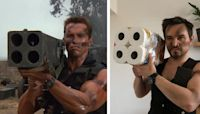 Quarantined Couple Recreates Iconic Movie Moments With Things in Their Home