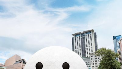 「菠蘿包」都識笑 太空館及西九公園大型裝置藝術明起開放
