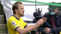 Kane seizes Spurs lead with quickfire double