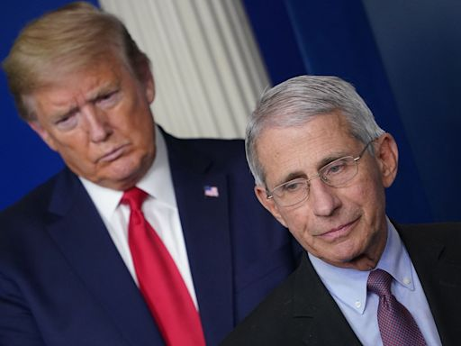 Here's a timeline of President Donald Trump's and Dr. Anthony Fauci's relationship