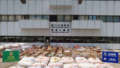 將軍澳反走私檢逾千萬元貨品 包括乾花膠及乾魚翅