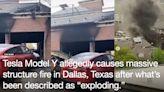 「浴火 Tesla 隨身碟」平反 Model Y 電動車爆炸引起建築火災案件