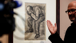 Vincent Van Gogh: Newly discovered drawing goes on display