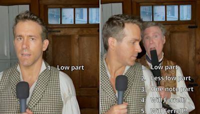 Will Ferrell hijacks Ryan Reynolds' performance of Mika's 'Grace Kelly' on TikTok