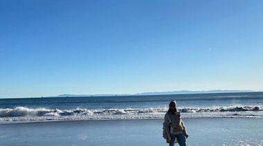 Katherine Schwarzenegger and Chris Pratt Take Daughter Lyla, 4 Months, on 'Quiet Beach Walk'