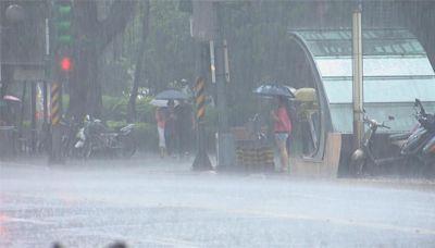 快新聞/下午出遊注意雨彈! 「4縣市」大雨特報