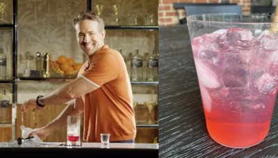 """We Made Ryan Reynolds' """"Vasectomy"""" Cocktail And It's Actually *So* Good"""