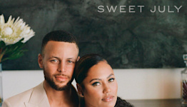 Ayesha and Steph Curry Photographed with Their 3 Children in Sweet July Cover Sneak Peek