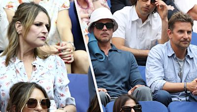 Savannah Guthrie Was So Excited To Sit Beside Brad Pitt And Bradley Cooper At The US Open, She Documented The...