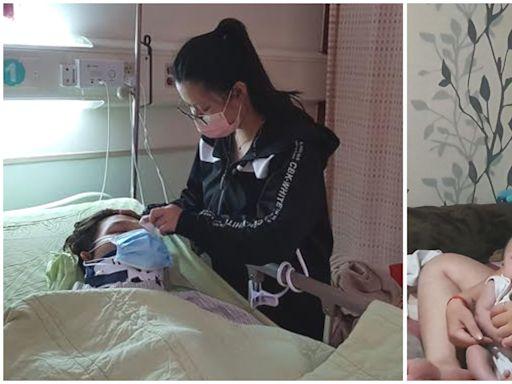 【暖流】21歲爸淋巴癌末轉骨已癱 心酸「抱新生兒的力氣都沒有」 | 蘋果新聞網 | 蘋果日報