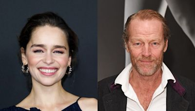 Game of Thrones' Emilia Clarke and Iain Glen reunite on social media