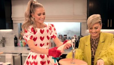 Paris Hilton Invites Demi Lovato on 'Cooking With Paris' But Makes One Big Mistake (Exclusive)