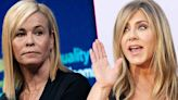 Blacks can't think for themselves, according to Chelsea Handler and Jennifer Aniston