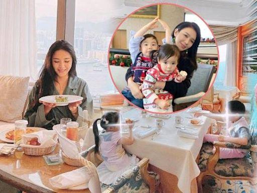 官恩娜潛水近一年終更新IG 分享家庭照:照顧小朋友太忙 | 蘋果日報