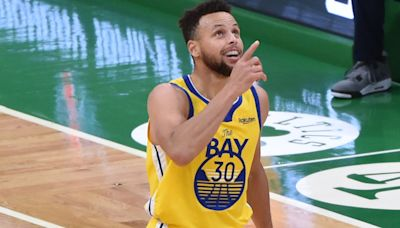 Steph Curry hopeful he can play vs. 76ers after left ankle tweak