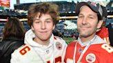 Paul Rudd's Son Is His Doppelgänger at the Super Bowl