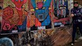 Lo dieron por muerto, se curó y ahora es un dibujante codiciado: el artista urbano que decora las calles de Palermo