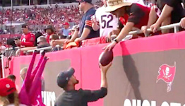 Tom Brady Rips Bargaining Skills Of Fan Who Gave Back His 600th Touchdown Pass
