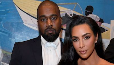 Kim Kardashian and Kanye West wear matching outfits during post-split outing
