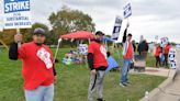UAW workers enter second day of strike following national trends
