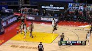 Draymond Green with a buzzer beater vs the Boston Celtics
