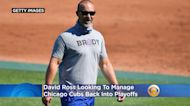 David Ross Looking To Manage Chicago Cubs Back Into Playoffs
