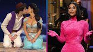SNL: Kim Kardashian Shares a Kiss WITH Pete Davidson and Gets Flirty With John Cena!