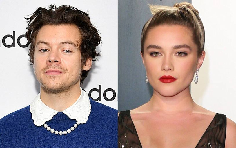 See Harry Styles and Florence Pugh's Steamy Makeout Session in Olivia Wilde's Don't Worry Darling