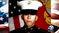 Procession held for fallen Marine Cpl. Dylan Merola