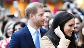 Prince Harry, Duchess Meghan Return to Public Duty After Holidays — Photos