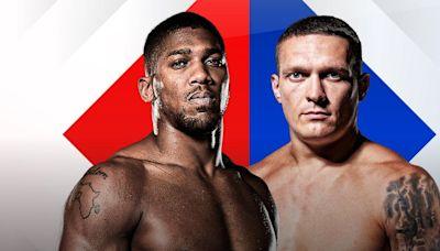 Anthony Joshua vs Oleksandr Usyk – watch the fight online