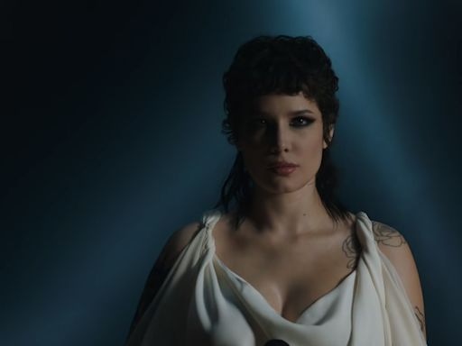 Halsey Shares Gory Live Performance Video For 'I Am Not A Woman, I'm A God'