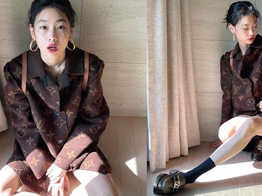 時尚|鄭浩妍當LV大使好認真 筷子腿配老花6小時吸400萬人按讚 | 蘋果新聞網 | 蘋果日報