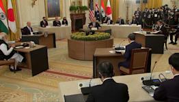 Biden hosts Indo-Pacific 'Quad' summit at WH