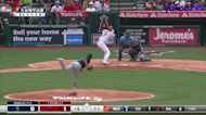 【MLB好球】打向中外野 大谷翔平第3次上場貢獻一壘安打