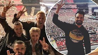 Spice Girls Wembley: Emma Willis, Rochelle Humes and Rylan lead stars